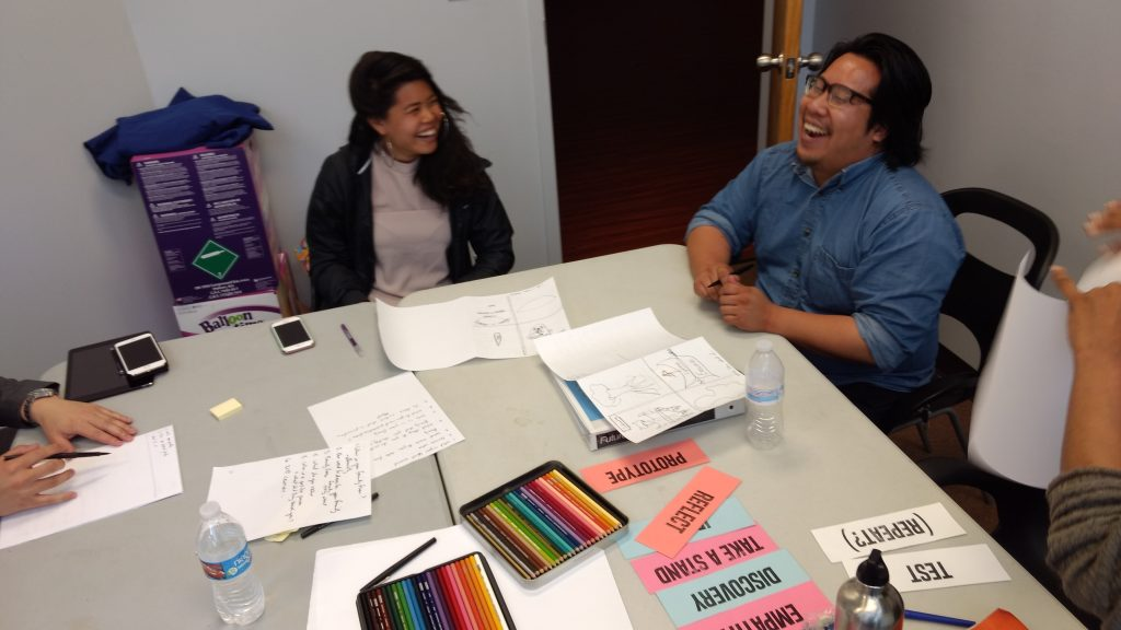 Territory Urban Design Team Summer Instructors Training in Design Thinking