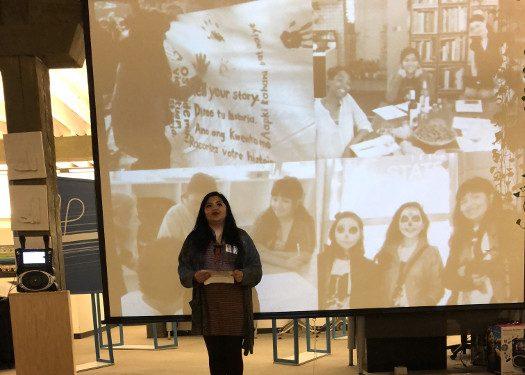 Territory alumna and Board member Suri Hernandez, featured speaker for BUILD Territory